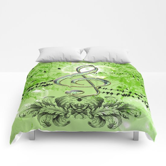 Decorative Clef Comforters