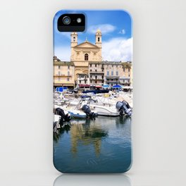église Saint Jean-Baptiste in Bastia iPhone Case