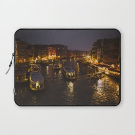 The hustle and bustle of Venice Laptop Sleeve