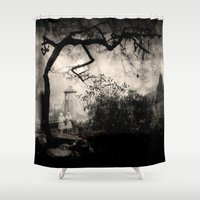ghost Shower Curtains featuring Ghost. by Joe Roberts