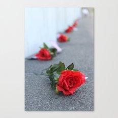 Flight 93 Memorial/Trail of Roses Canvas Print