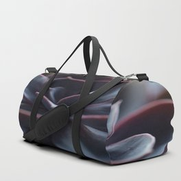 Succulent Plant In Close-up #decor #society6 #homedecor Duffle Bag