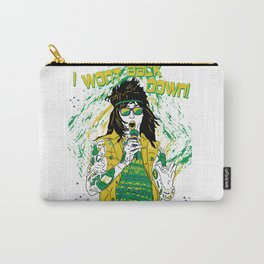 Falling in Reverse-Brazil Ronnie White Carry-All Pouch