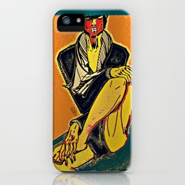 FABER - Serie HE iPhone Case