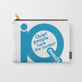 QUIET PEOPLE Carry-All Pouch