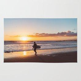 Venice Beach Surfer II Rug