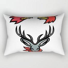 Mythical Creatures Mascot Collection Rectangular Pillow