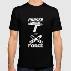 Force beats Phaser MEDIUM Mens Fitted Tee Black