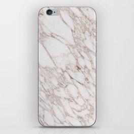 White Marble Carrara Calacatta iPhone Skin