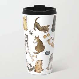Puppies! Travel Mug