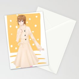 [Gintama] Okita Mitsuba Stationery Cards