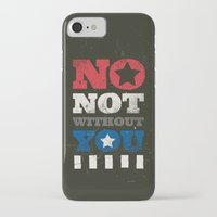 stucky iPhone & iPod Cases featuring No, Not Without You!! by MemoryRecovery