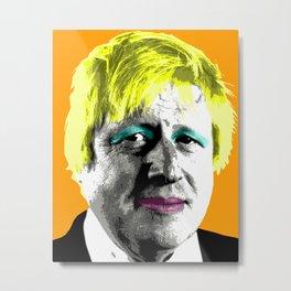 Boris Monroe - Orange Metal Print