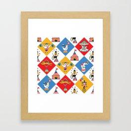 Baby Circus Framed Art Print