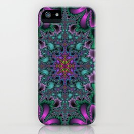 Fractal Abstract 36 iPhone Case