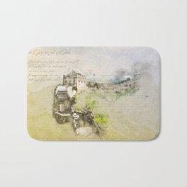 Great Chinese Wall Bath Mat