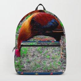 Key West Rooster Backpack