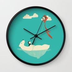 Parasailing Wall Clock