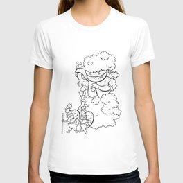 Ninja Master of Camouflage T-shirt