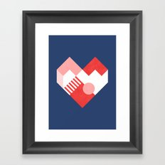 Heart II Framed Art Print