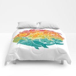 Animal Rainbow Comforters