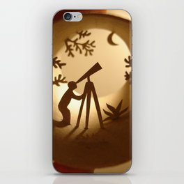 Astronomer (Astronome) iPhone Skin