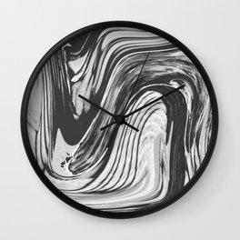 CAGE - BLACK Wall Clock