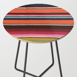 BEAUTIFUL MEXICAN SERAPE Side Table