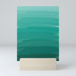 Sea Foam Dream Ombre Mini Art Print