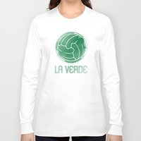 mexico Long Sleeve T-shirts featuring Mexico by Skiller Moves