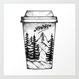 Monday Mood Art Print
