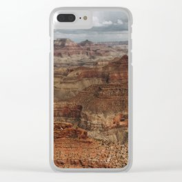 Grand Canyon Storm Clear iPhone Case