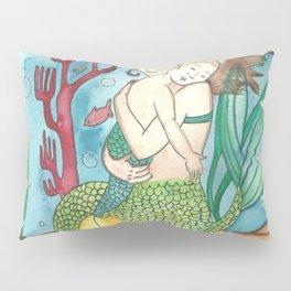 Mer-child & Mer-mother Pillow Sham