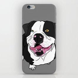 Bubba, the American Bulldog iPhone Skin