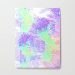 Abstract. Water area. Metal Print