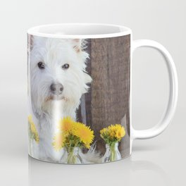 Westie Among the Weeds Coffee Mug