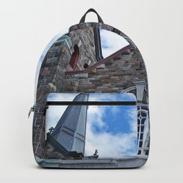 Church and Clouds Backpack
