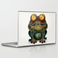 frog Laptop & iPad Skins featuring Frog by Riccardo Pertici