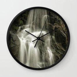 Up Cottonwood Creek Two Wall Clock