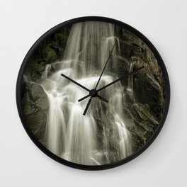 Up Cottonwood Creek Two Wall Clock