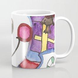 Mouse and Snowman Coffee Mug