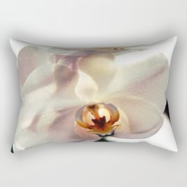 White Orchids Rectangular Pillow