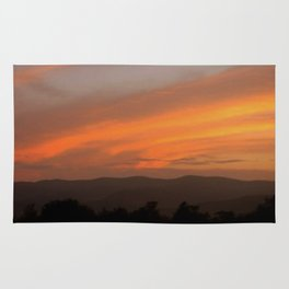Sunset in Vermont Rug