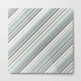 Just Stripes 2 Metal Print