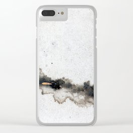 Watching the Trickle Clear iPhone Case