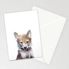 Little Wolf Stationery Cards
