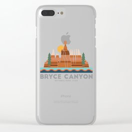 Bryce Canyon National Park Utah Graphic Clear iPhone Case