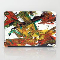 fight iPad Cases featuring Fight by Dana Krystle
