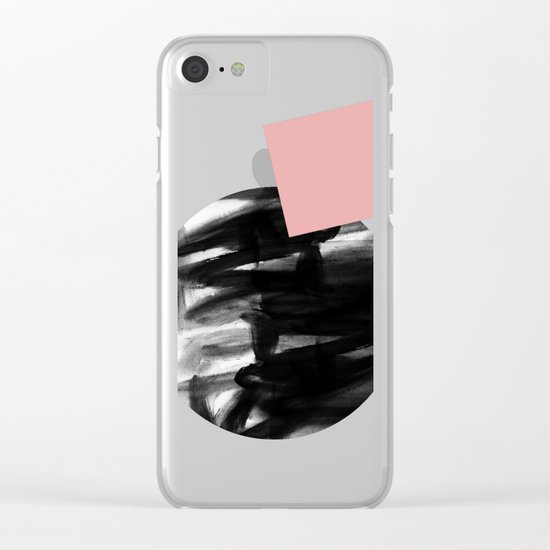 Minimalism 12 Clear iPhone Case