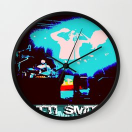Patti Smith - Godmother of Punk Wall Clock